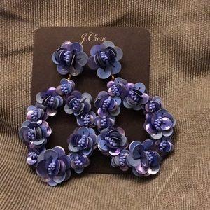 Jcrew earrings blue